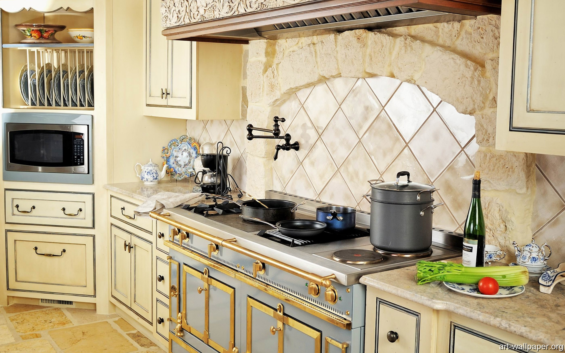 Kitchen Wallpapers Renovating Ideas