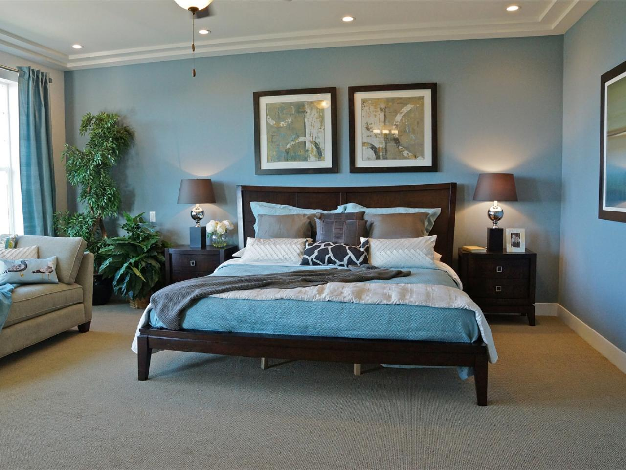 blue traditional bedrooms 21 decor ideas. Black Bedroom Furniture Sets. Home Design Ideas