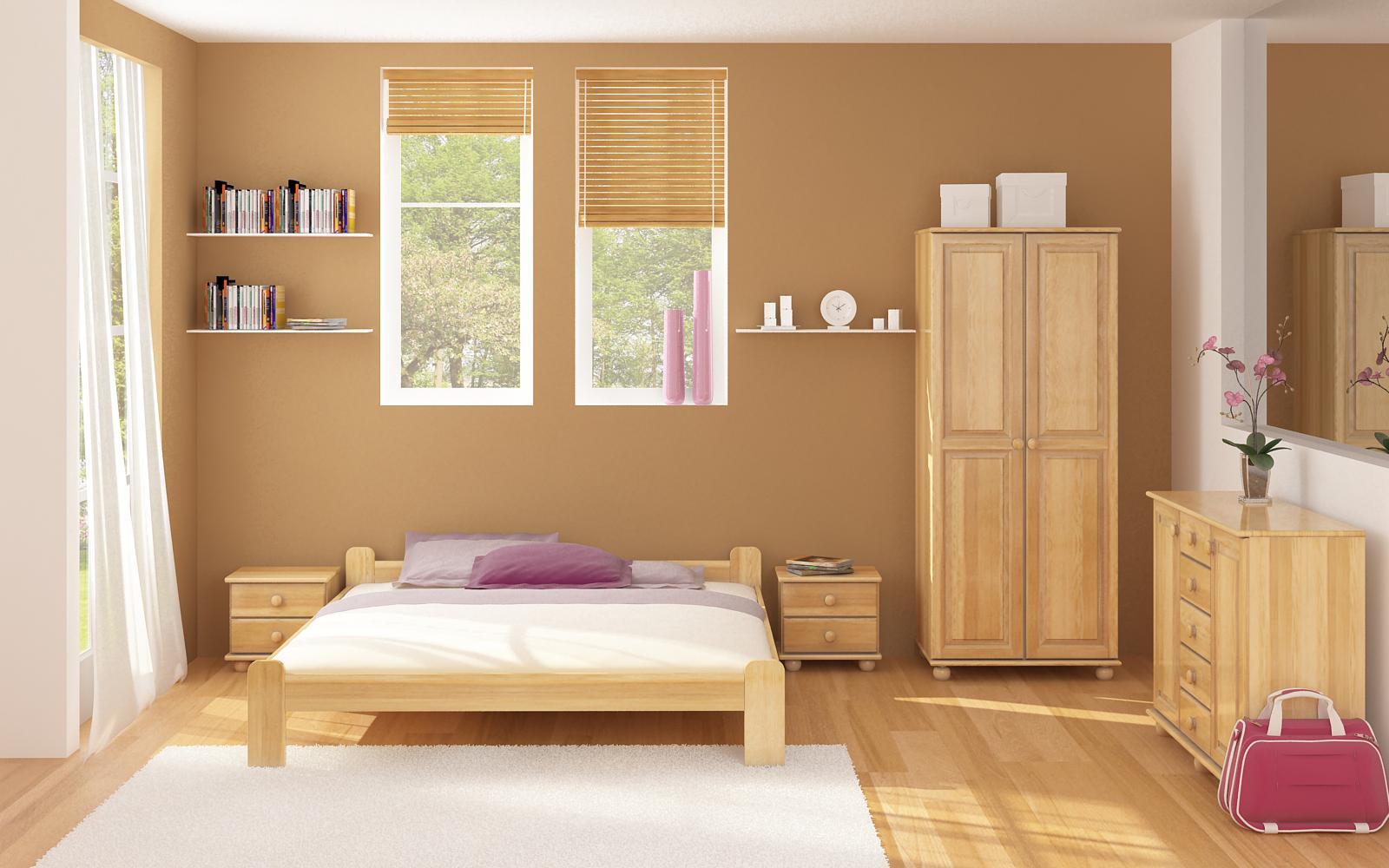 Smooth bedroom color