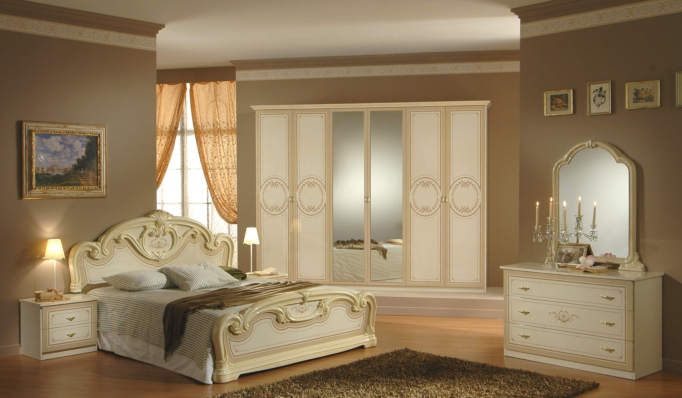 Classic Bedroom Design 8 Designs
