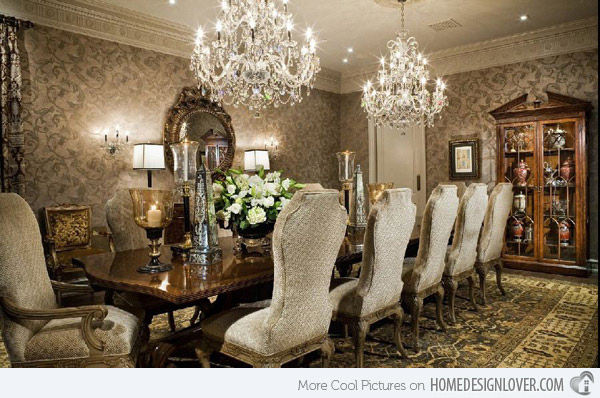 Wonderful Classic Dining Room Renovationg Ideas