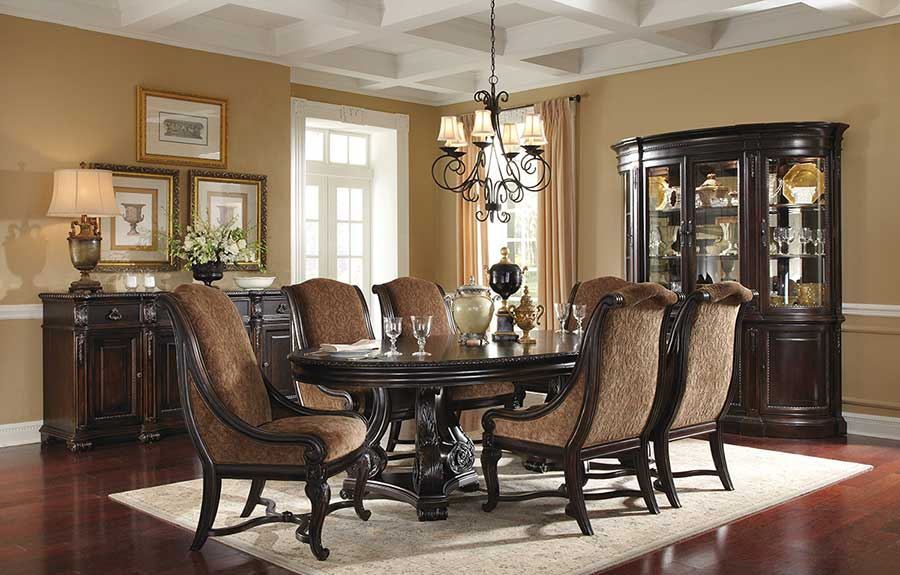Classic dining room design 13 inspiration for Dining room design inspiration