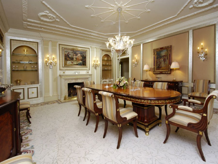 Classic dining room design ideas 18 picture for Classic dining room ideas