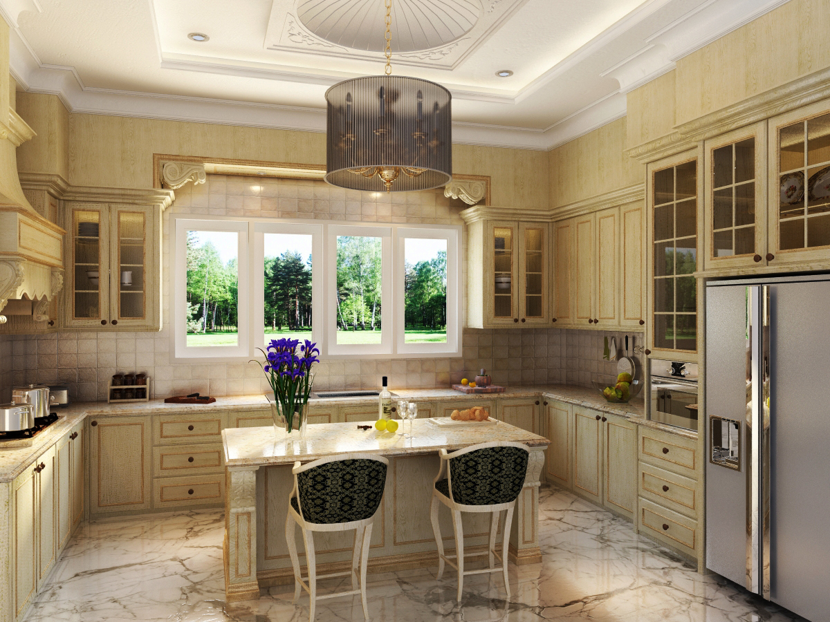 Classic kitchen design 10 ideas for Classic kitchen decor