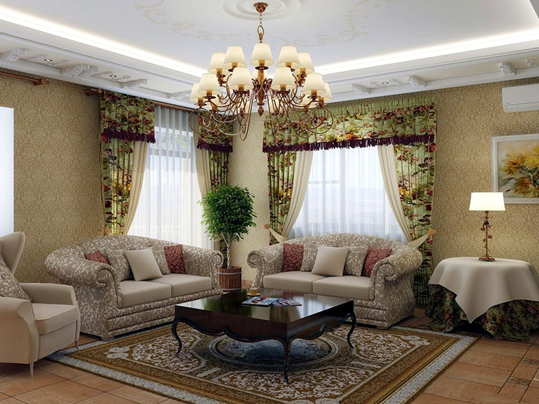 classic living room 48 arrangement - enhancedhomes