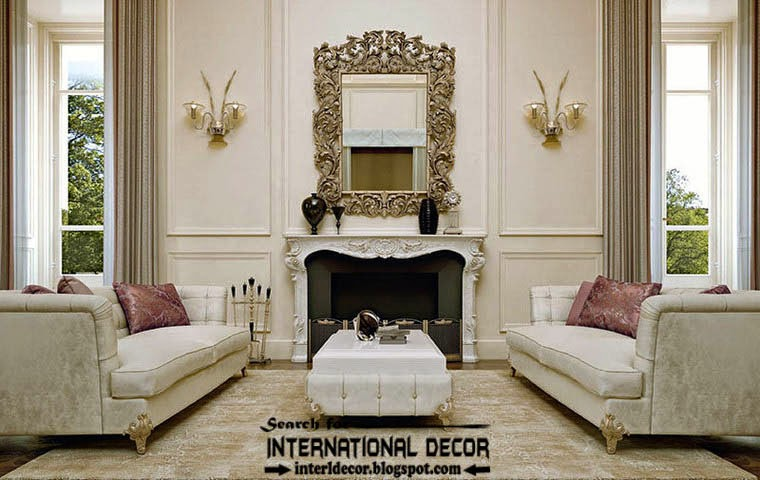 Wonderful Classic Living Rooms Interior Design Photos
