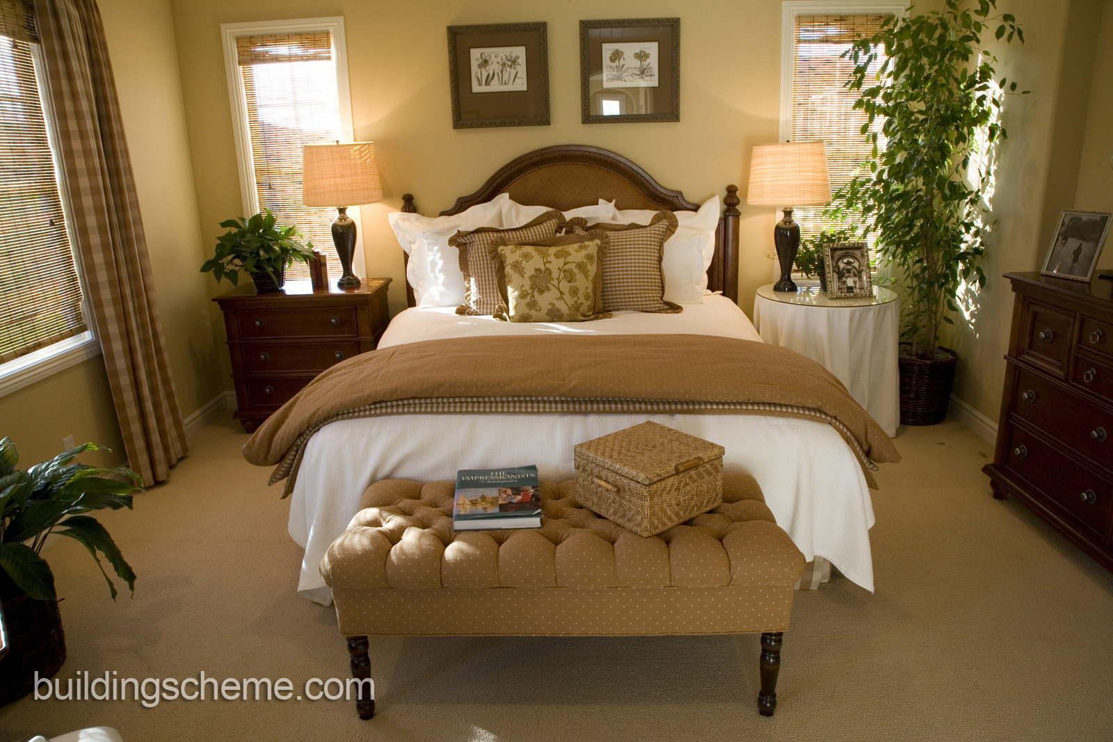 Elegant bedroom ideas decorating 27 decor ideas for How to decorate a bedroom