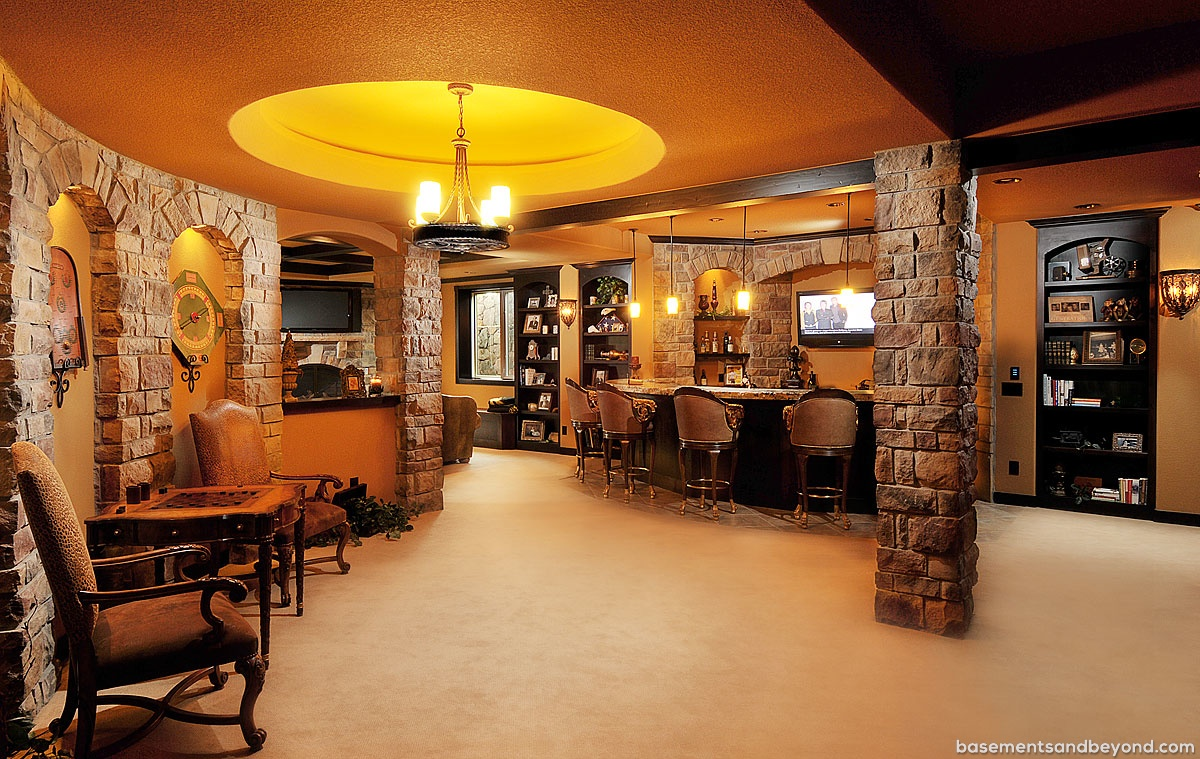 Luxury basements 18 decoration idea for Luxury basements