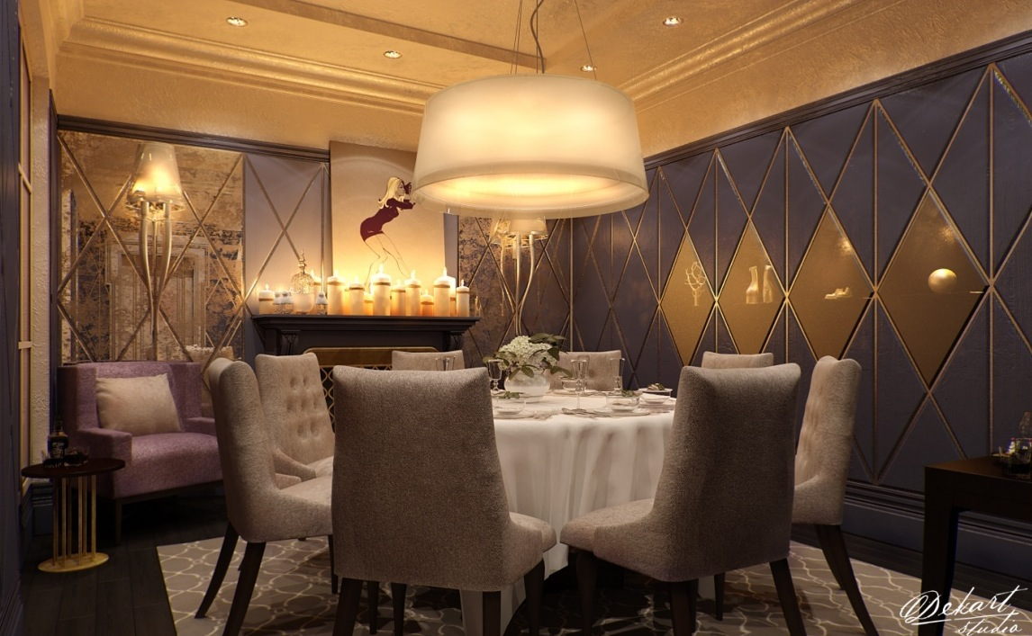 Luxury Dining Room Design 5 Inspiration