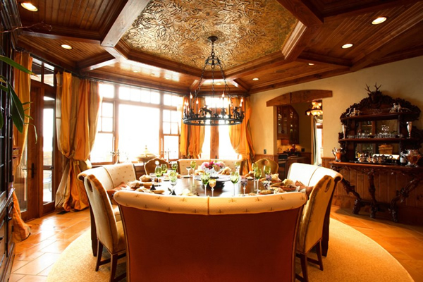 Luxury dining room design 9 decor ideas for Luxury dining room design