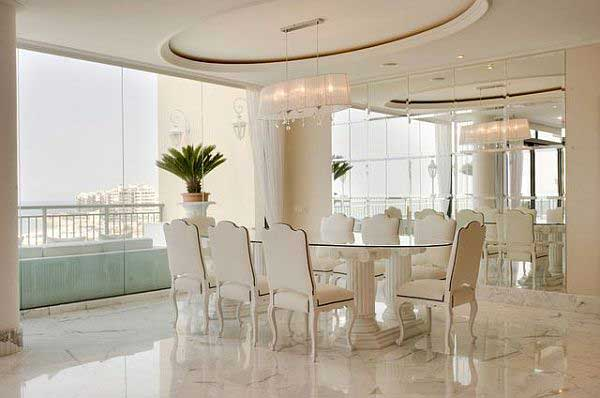 Luxury Dining Rooms 17 Decor Ideas - EnhancedHomes.org