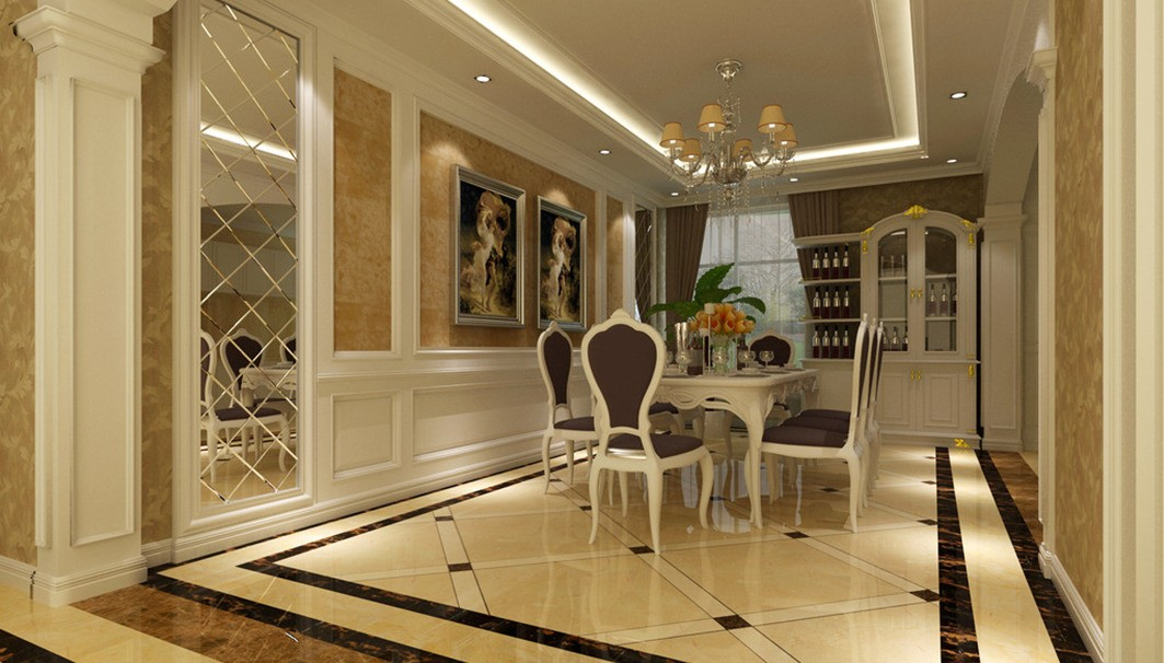 Luxury dining rooms 20 design ideas for Luxury dining room design
