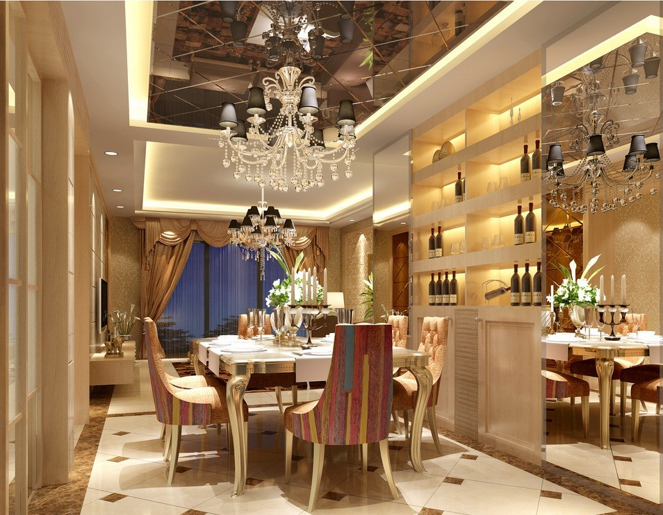 Luxury Dining Rooms 24 Ideas - EnhancedHomes.org