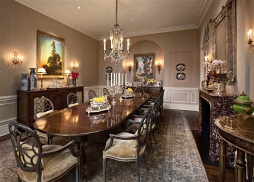 Luxury Dining Rooms 7 Inspiring Design - EnhancedHomes.org