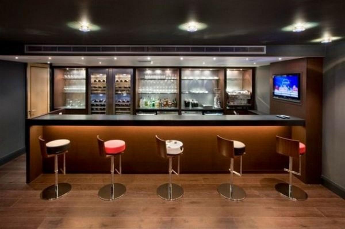 Modern Basement Bar Designs HD Wallpapers