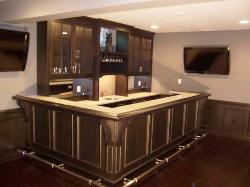 Modern basement bar designs 9 designs - Stylish home bar ideas ...
