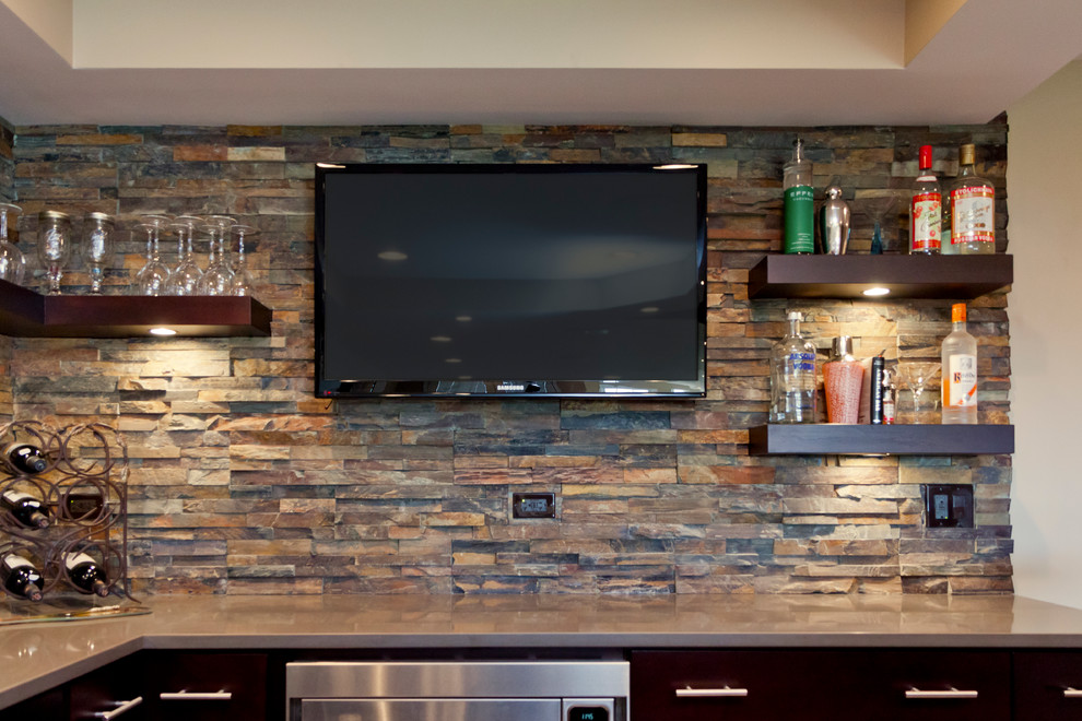 Gentil Modern Basement Bar Ideas HD Wallpapers