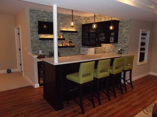 Modern basement bar ideas 10 inspiration - Simple bar designs ...