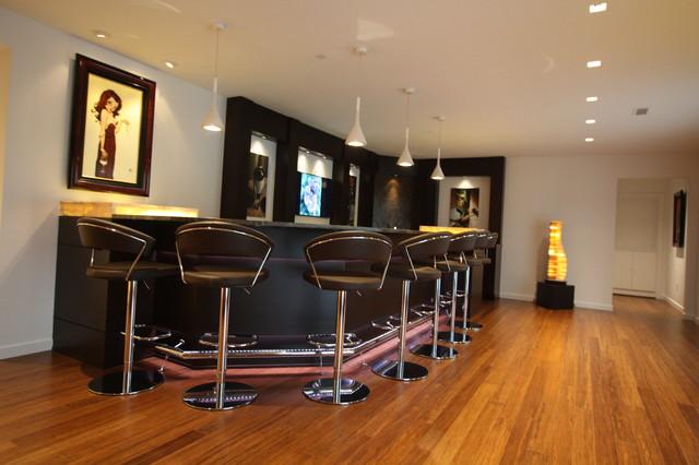 Modern Basement Bar Ideas HD Wallpapers