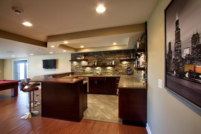 modern basement bars 11 design ideas. Black Bedroom Furniture Sets. Home Design Ideas