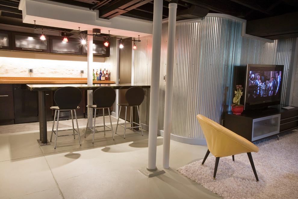 modern basement ceiling 6 renovation ideas - enhancedhomes