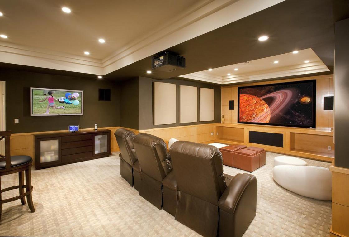 Modern Basement Decor 5 Design Ideas