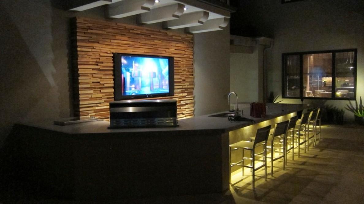 Modern basement design 14 designs for Contemporary basement designs