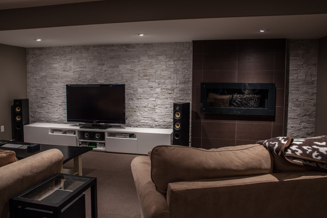 Modern Basement Remodeling Ideas modern basement remodel 17 decor ideas - enhancedhomes