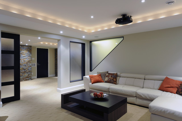 Modern Basements 16 Design Ideas