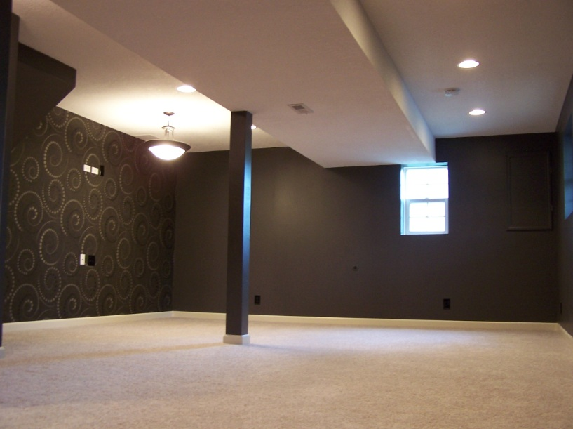 Modern basements 17 designs for Modern finished basements