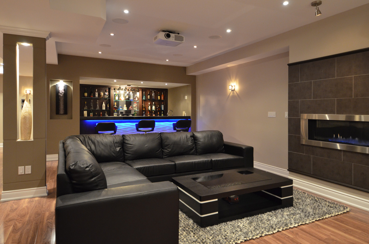 Modern basements 22 design ideas Basement architect
