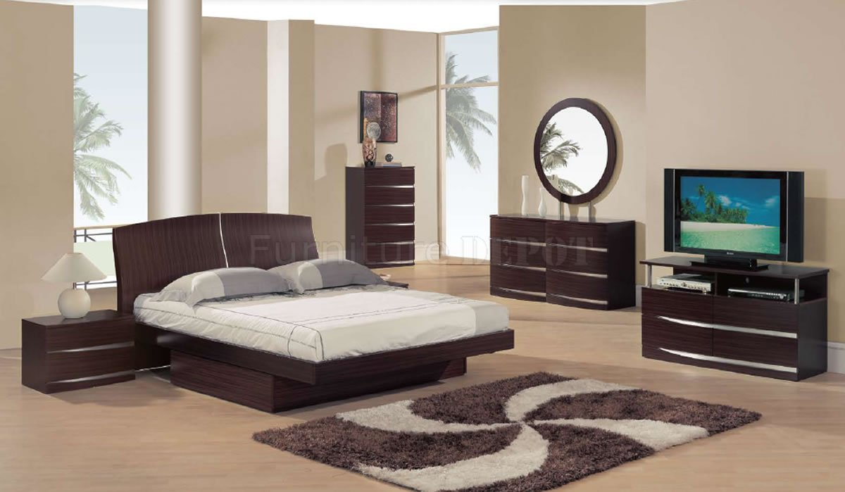 Bedroom Decorating Ideas Mahogany Furniture modern bedroom furniture sets 22 decor ideas - enhancedhomes