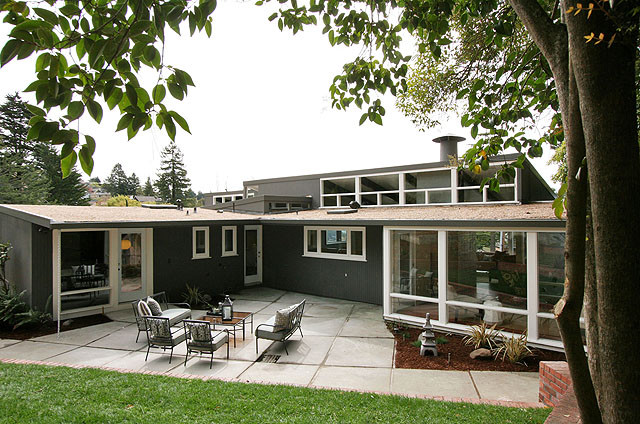 modern exterior paint colors renovating ideas - Mid Century Modern Home Exterior Paint Colors