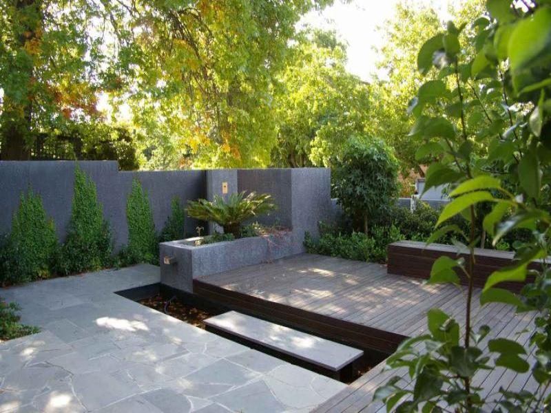 Modern garden 41 renovation ideas for Garden renovation ideas
