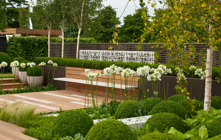 Modern garden 62 design ideas for Contemporary garden designs and ideas