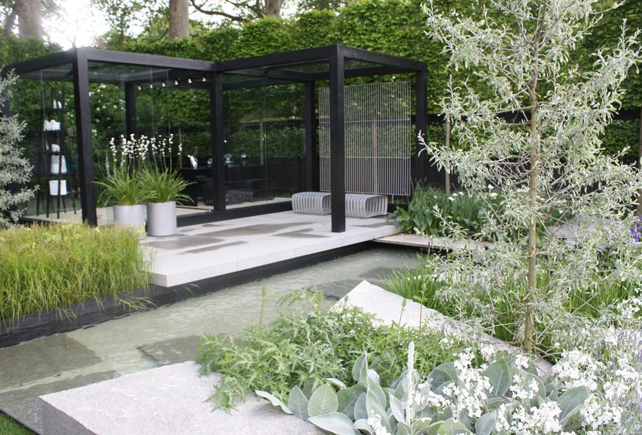 modern garden design  picture enhancedhomesorg