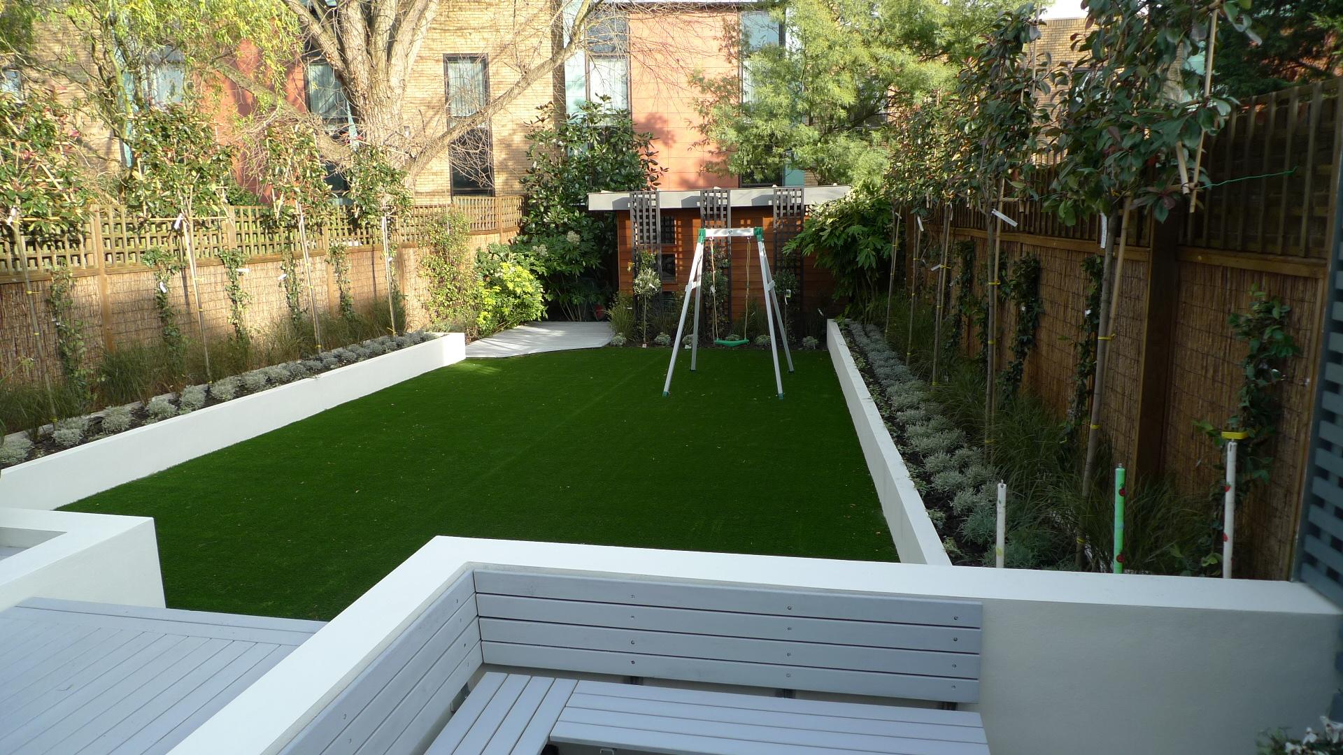 exellent garden design modern clapham balham battersea small low