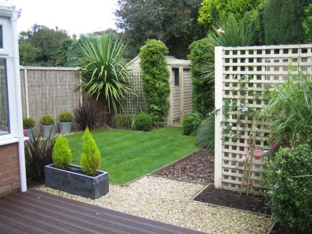 Modern garden designs for small gardens 21 architecture for Garden designs for small gardens uk