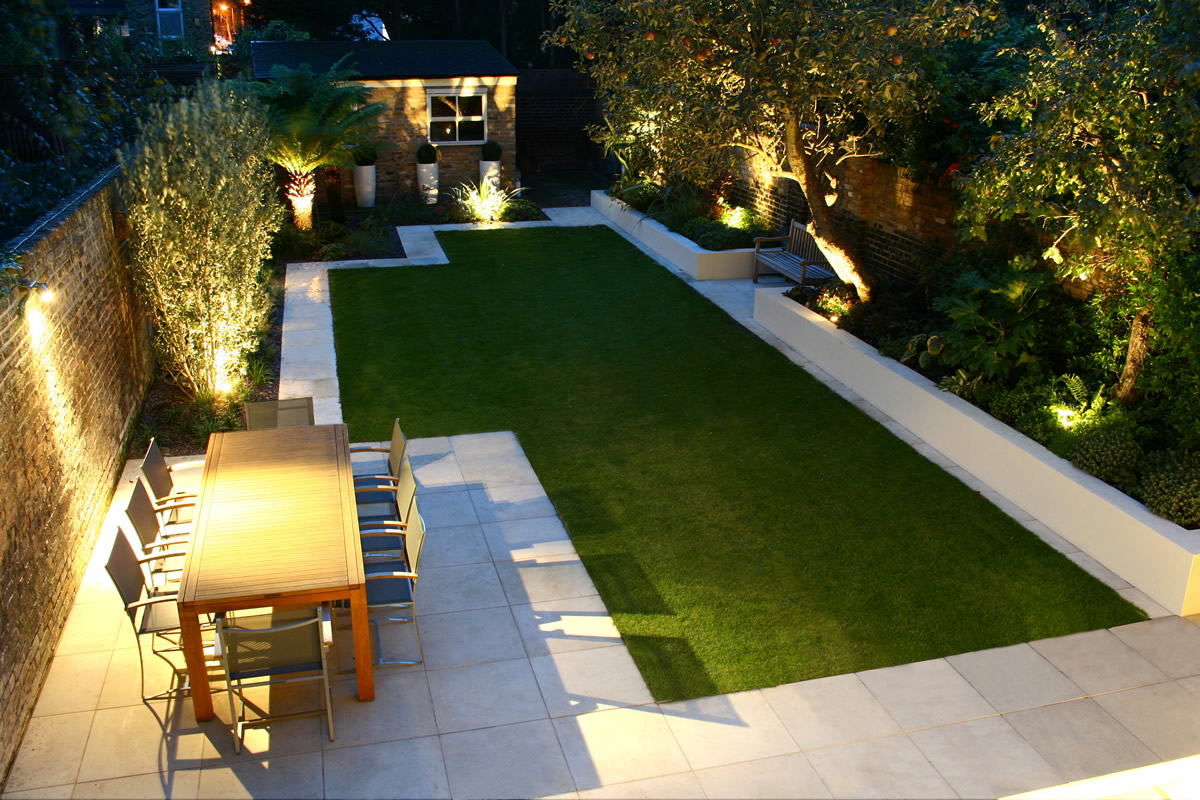 Modern Garden Designs For Small Gardens Renovating Ideas