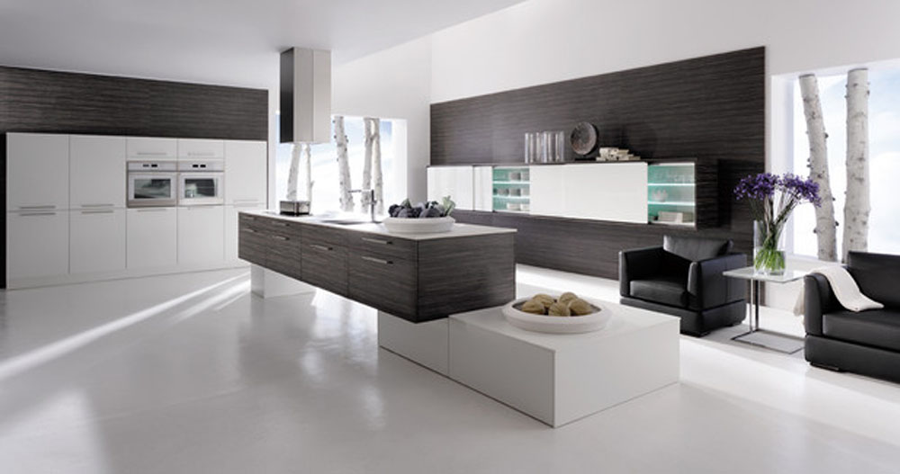 Black Colour Kitchen Designs