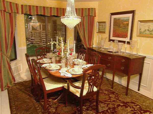 Dining room decorating ideas traditional