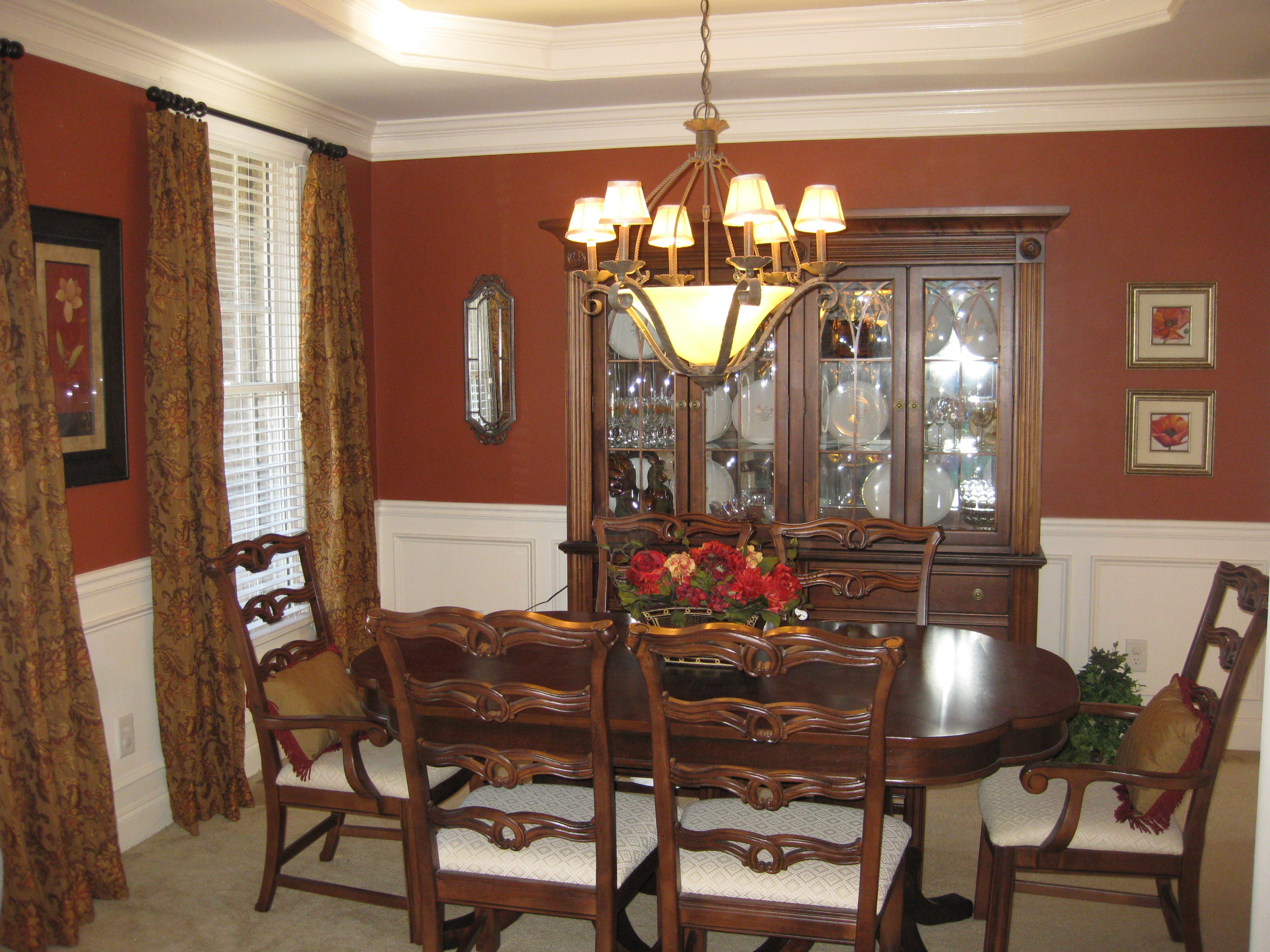Awesome images of traditional dining room designs light for Traditional dining room designs