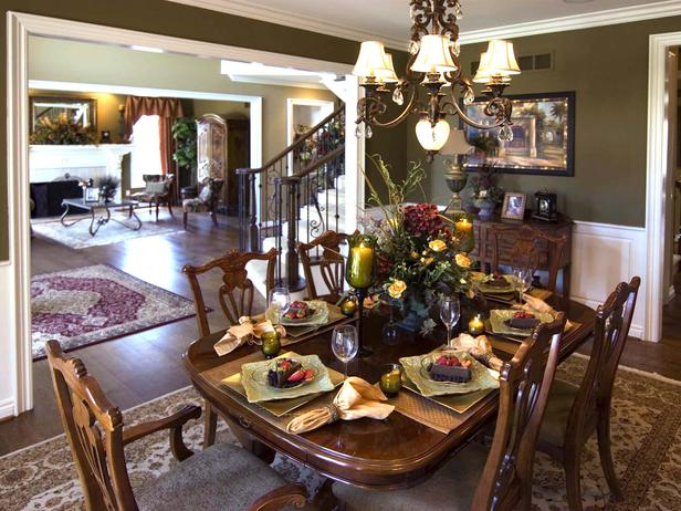 Nice Traditional Dining Room Decorating Ideas 4 Decoration Inspiration
