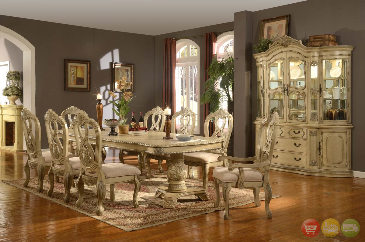 Traditional Dining Room Tables traditional dining room furniture 8 designs - enhancedhomes