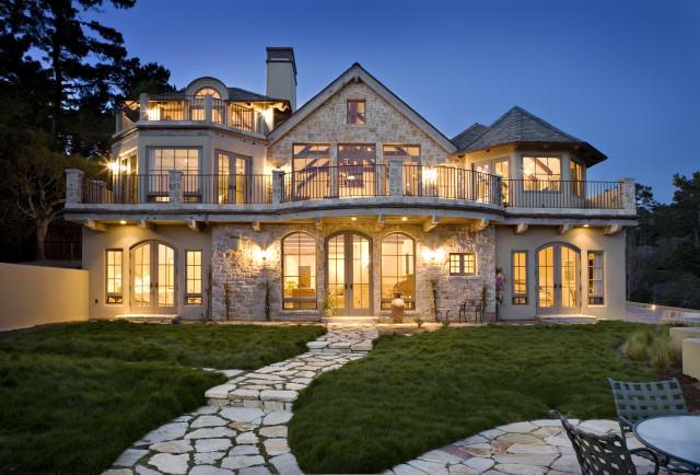 interesting traditional home exterior design | Traditional Exterior Design Images 25 Designs ...