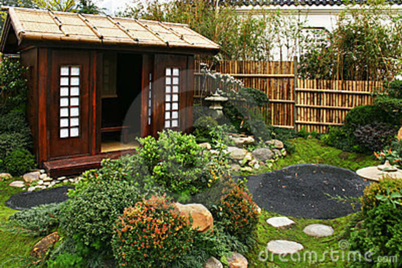 Traditional garden design 11 architecture for Japanese style garden buildings