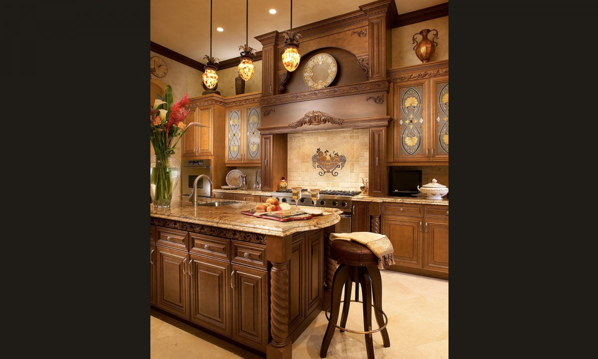 Traditional kitchen designs 7 decor ideas for Kitchen decoration designs