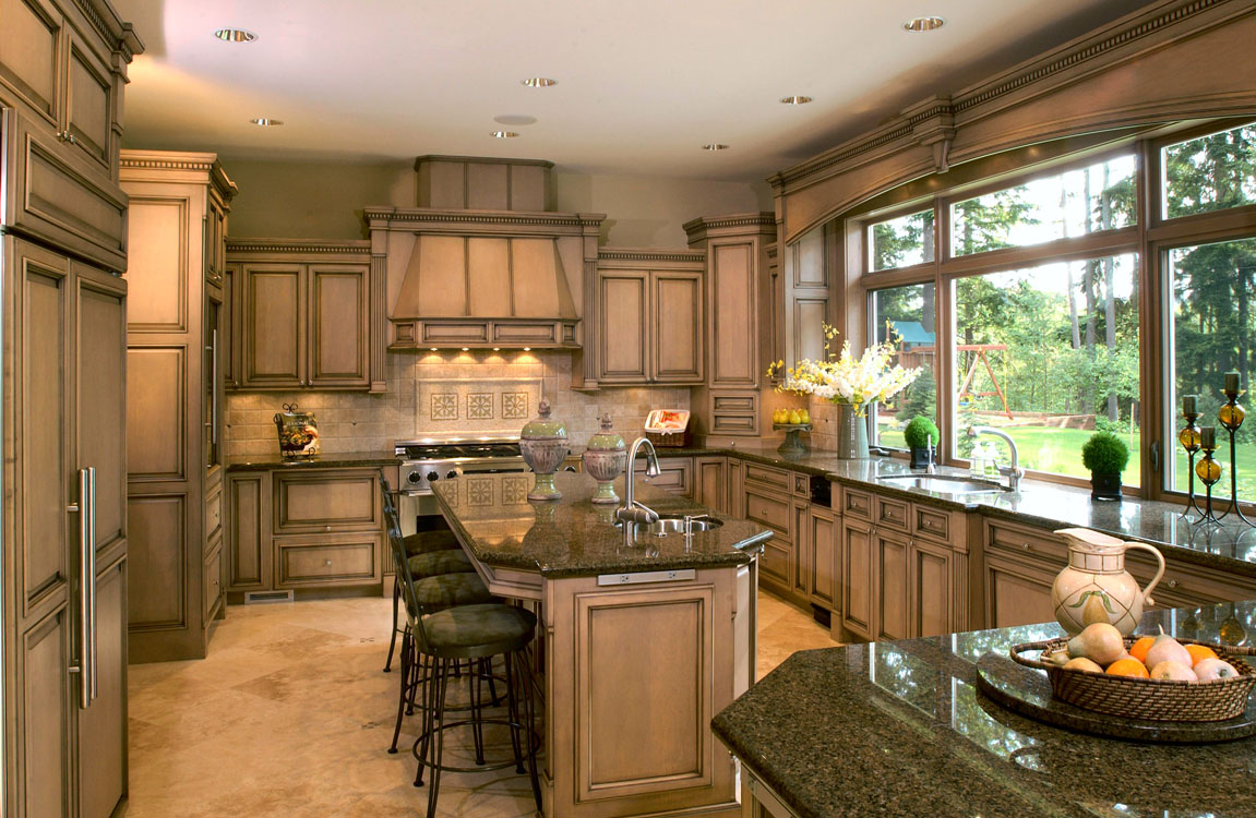Traditional kitchens 19 decoration idea for New home kitchen designs