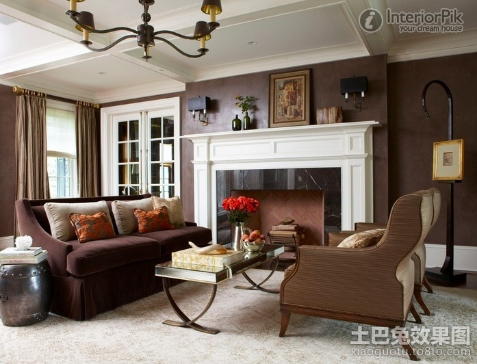 American living room design
