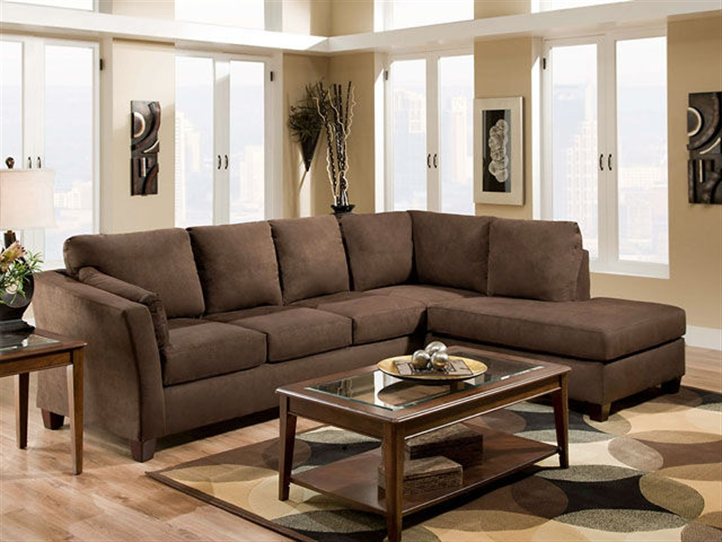 American living room furniture 12 picture for Apartment living room furniture ideas